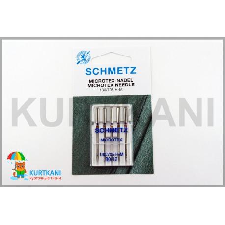 Иглы Shmetz Microtex 80