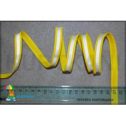 Стропа светоотражающая Желтый 10 мм