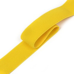 Резинка лямочная 40 мм Желтый