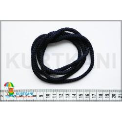 Шнур одёжный с наполнителем 6 мм Темно-синий