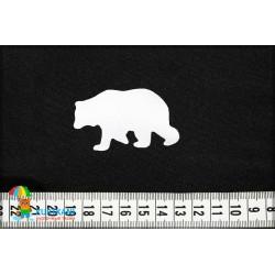 Термоаппликация светоотражающая Медведь