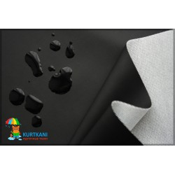 Прорезиненная ткань Чёрный
