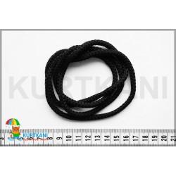 Шнур одёжный с наполнителем 6 мм Черный