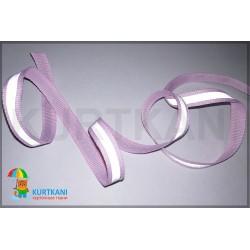 Тесьма светоотражающая Светло-розовый 10 мм