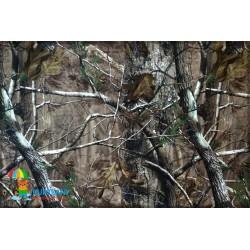 Трикотаж мембрана Осенний лес