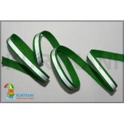 Стропа светоотражающая 10 мм Зеленый