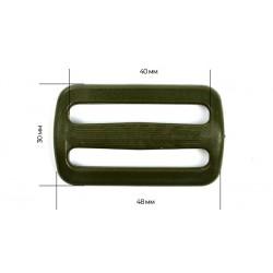 Рамка двухщелевая 40 мм Хакки