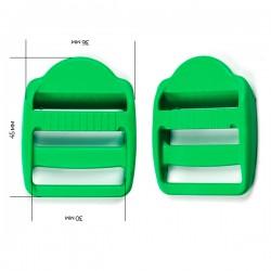 Пряжка 30 мм Ярко-зеленый