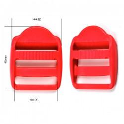 Пряжка 30 мм Красный
