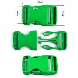 Фастекс 30 мм Ярко-зеленый