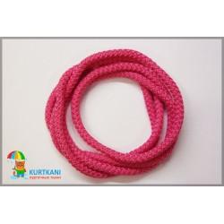 Шнур одёжный с наполнителем 6 мм Темно-розовый