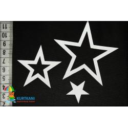 Термоаппликация светоотражающая Звезда в звезде