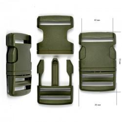 Фастекс 40 мм Хакки