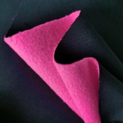 Софтшелл плащевой Черный/Розовый неон