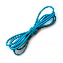 Резинка-шнур 3 мм Бирюза