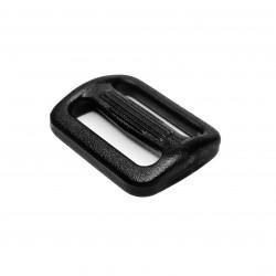 Рамка двухщелевая 20 мм Черный Apri