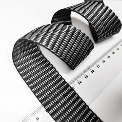 Стропа 30 мм Серо-черный