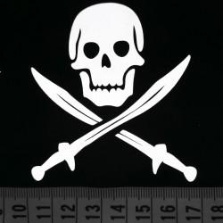 Термоаппликация светоотражающая Пираты