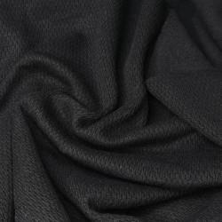 Ткань для термобелья ПЭ+ХБ Черный