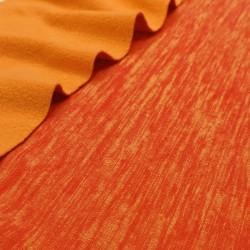 Флис катионик Оранжевый