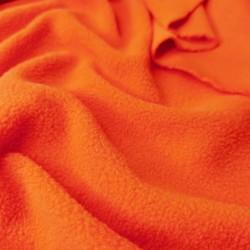 Флис подкладочный оранжевый