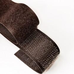 Лента-липучка Тёмно-коричневый (6283)