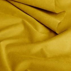 Бархатистая мембранная ткань Горчица