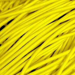 Резинка-шнур 3 мм Желтый