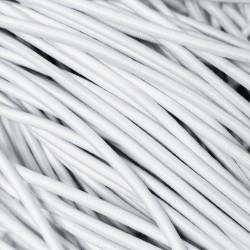 Резинка-шнур 3 мм Белый