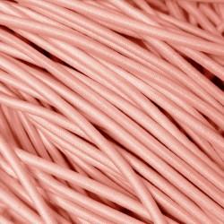 Резинка-шнур 3 мм Персик
