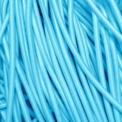 Резинка-шнур 3 мм Светлая бирюза