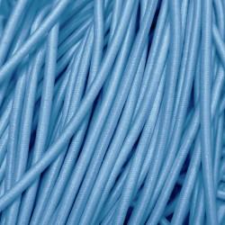 Резинка-шнур 3 мм Темно-голубой