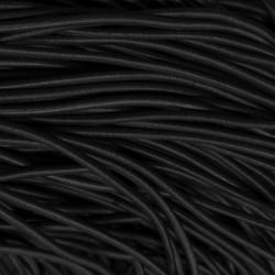 Резинка-шнур 3 мм Черный