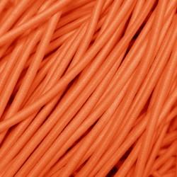 Резинка-шнур 3 мм Яркий персик