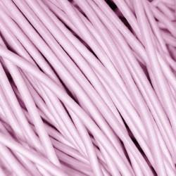 Резинка-шнур 3 мм Светло-розовый