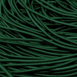 Резинка-шнур 3 мм Темно-зеленый