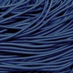 Резинка-шнур 3 мм  Серо-синий