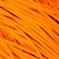 Резинка-шнур 3 мм Ярко-оранжевый