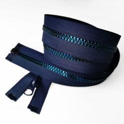 Декоративная молния 90 см Темно-синий (S-058/L521)