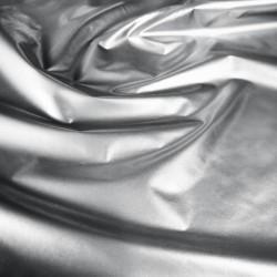 Металлизированная плащёвка Серый