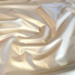 Металлизированная плащёвка Серебристое золото