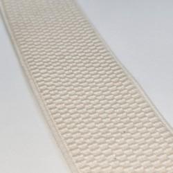 Резинка лямочная 40 мм Молочный
