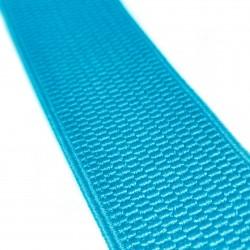 Резинка лямочная 40 мм Ярко-голубой
