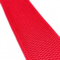 Резинка лямочная 40 мм Красный