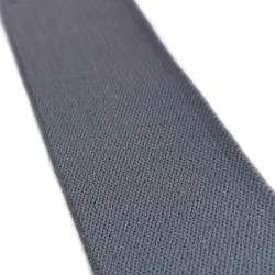 Резинка тканая мягкая Тёмно-серый