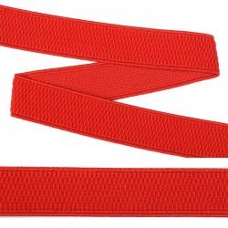 Резинка лямочная 25 мм Красный