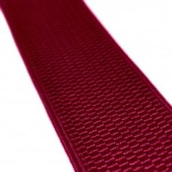 Резинка лямочная 40 мм Бордовый