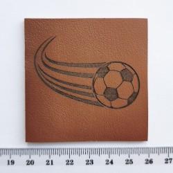 Нашивка кожаная Футбол