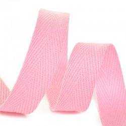 Тесьма киперная 10 мм хлопок Светло-розовый