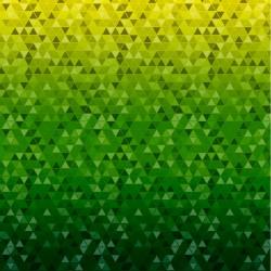 Мембрана 3К/3К Треугольники салатовый
